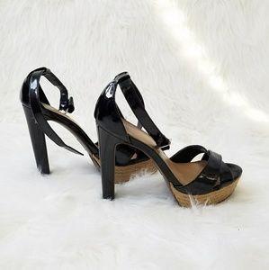 Mossimo black high heels as 6.5